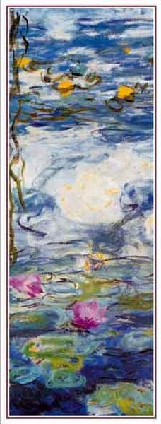 Water Lilies, 1916-1919 (part.) Reproduction d'art