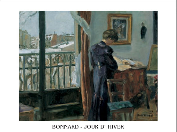 Winter's Day, 1905 Reproduction d'art