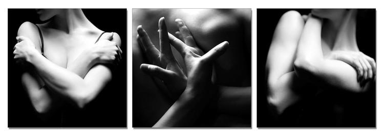 Woman's Body - Tenderness Tableau Multi-Toiles