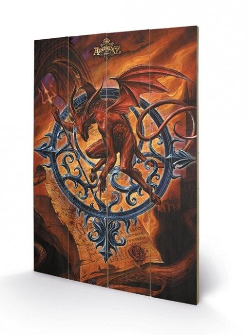 ALCHEMY - astrolabeus Wooden Art