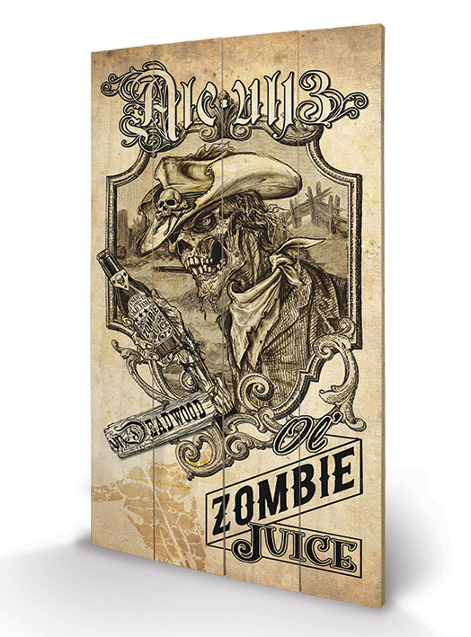 Alchemy - Zombie Juice Wooden Art