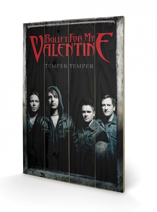 Bullet For My Valentine - Group Wooden Art