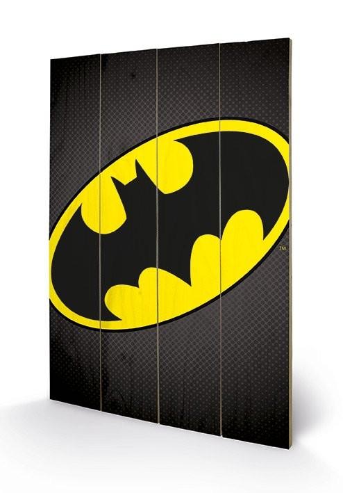 DC Comics - Batman Symbol Wooden Art