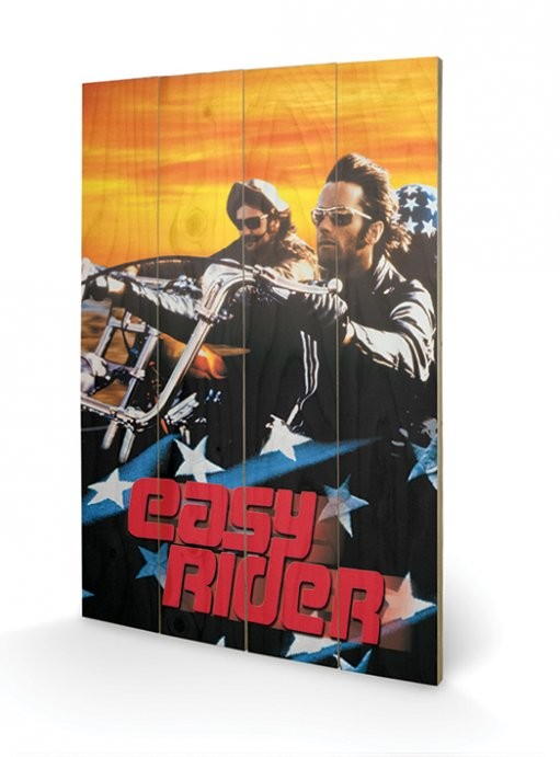 Easy Rider - Cruising Wooden Art