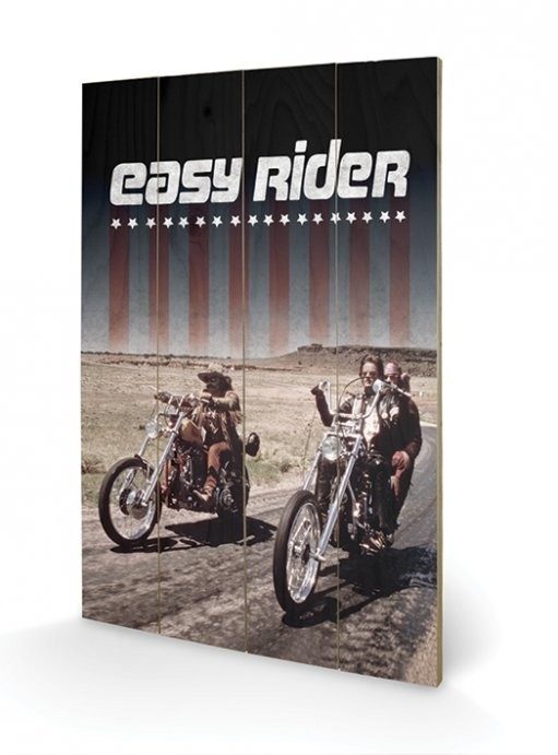 Easy Rider - Riders Wooden Art