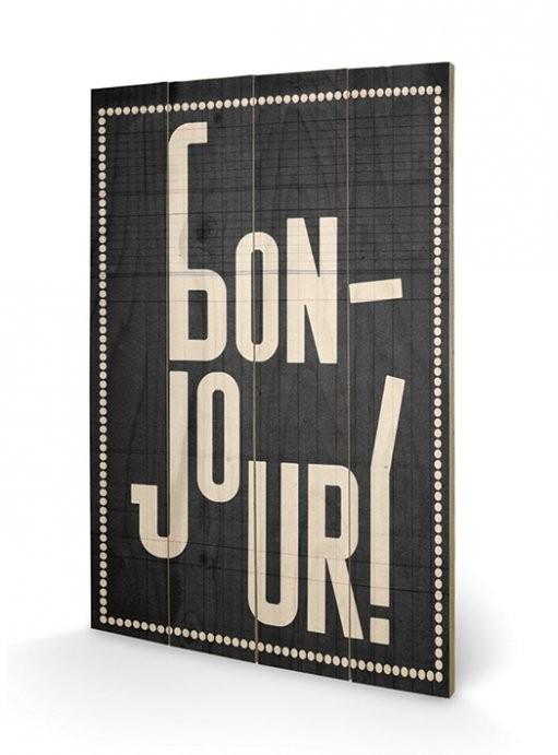 Edu Barba - Bonjour Wooden Art
