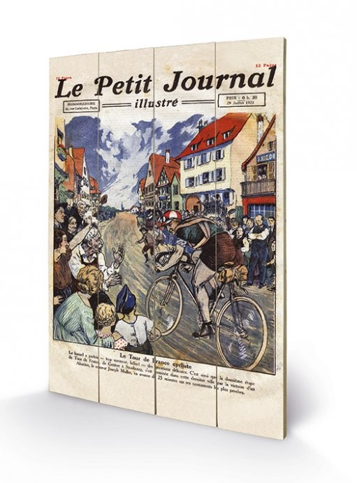 Le Tour de France - Le Petit Journal Wooden Art