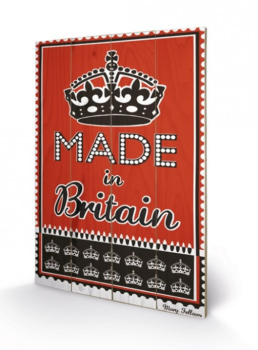 MARY FELLOWS - made in britain Wooden Art