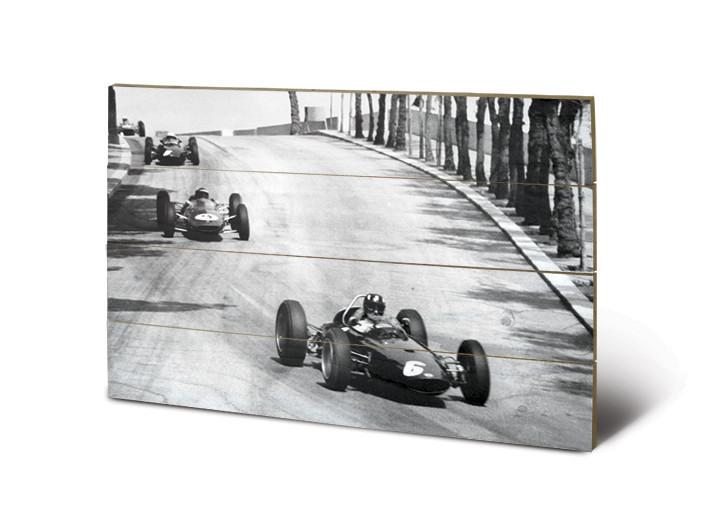 Monaco - New Promenades Wooden Art