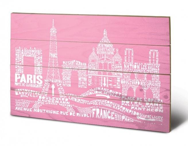 Paris - Citography Wooden Art