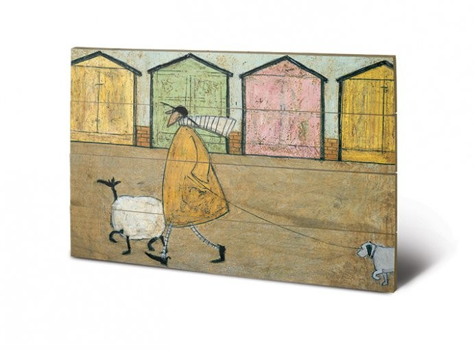 Sam Toft - Along The Prom Wooden Art