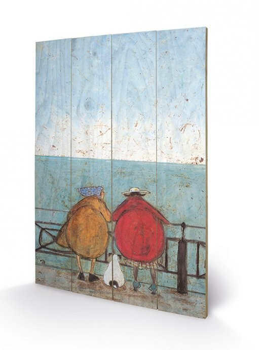 Sam Toft - Doris Earwigging Wooden Art