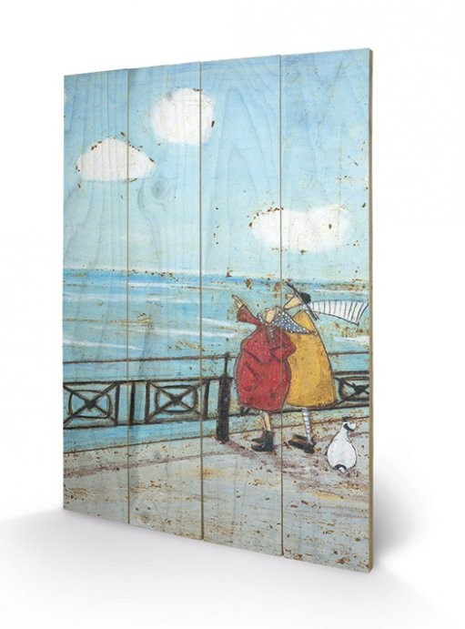 Sam Toft - Her Favourite Cloud  Wooden Art