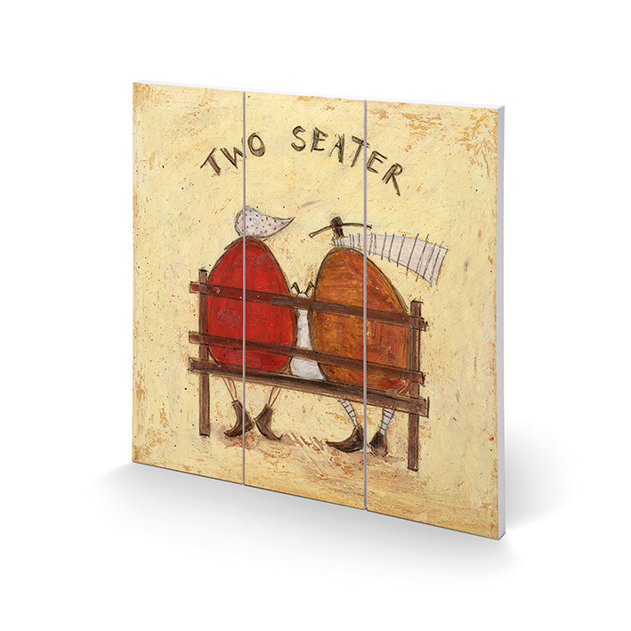 Sam Toft - Two Seater Wooden Art