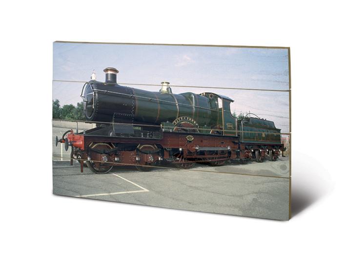 Tank Engine - City of Truro Wooden Art