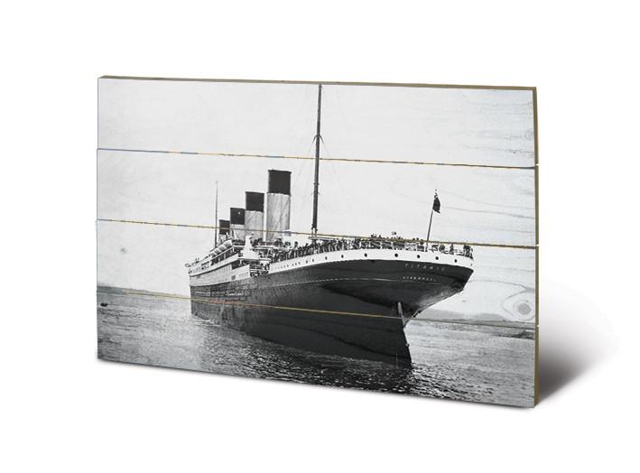 Titanic - New Promenades Wooden Art