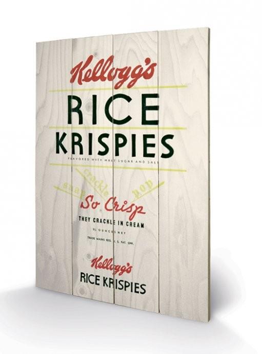 VINTAGE KELLOGGS - rise krispies Wooden Art