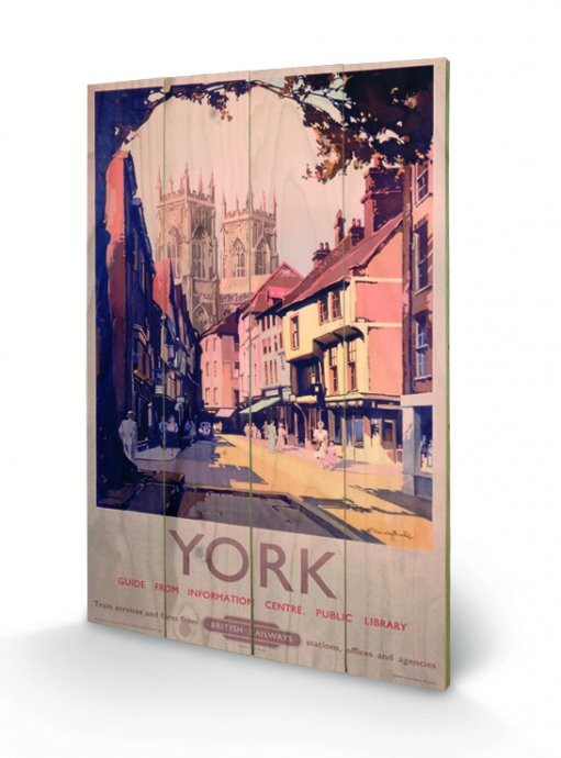 York - British Railways Wooden Art