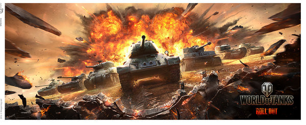 Mug World Of Tanks - Roll Out