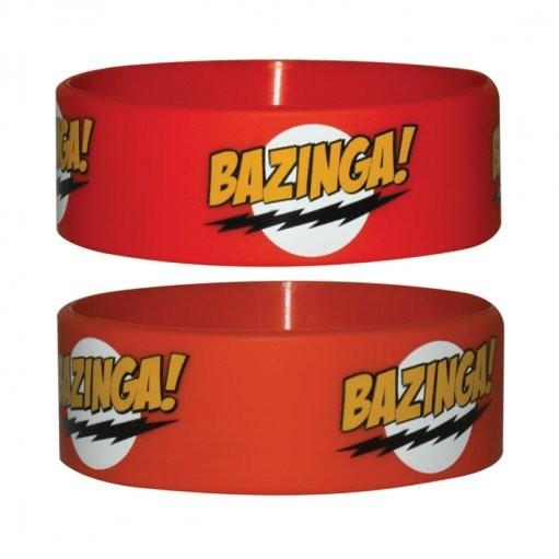 BAZINGA - red Wristband