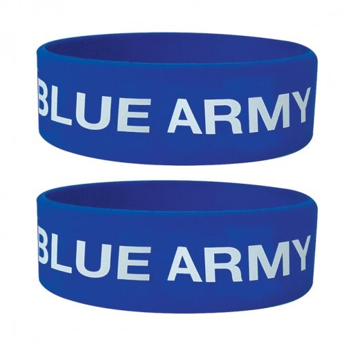 BLUE ARMY Wristband