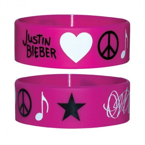 JUSTIN BIEBER - icons  Wristband