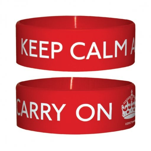 KEEP CALM AND CARRY Wristband