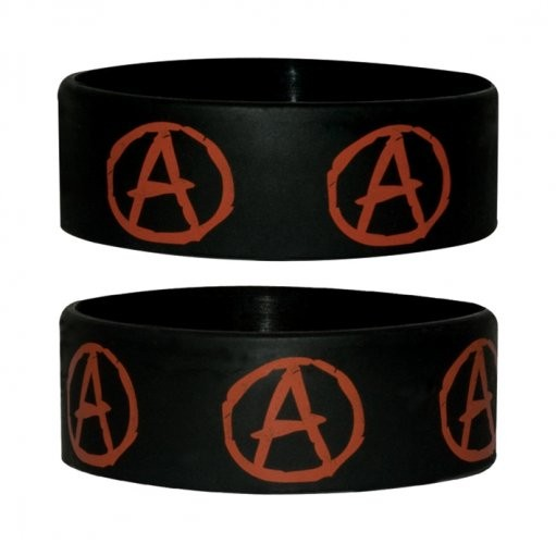 ANARCHY SYMBOL Wristband