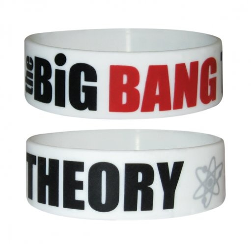 BIG BANG THEORY - logo Wristband