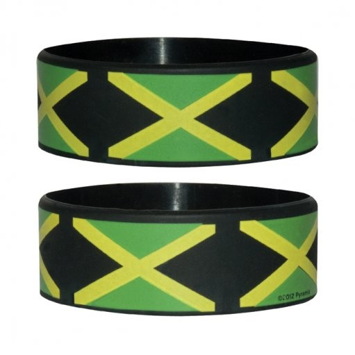 JAMAICAN FLAG Wristband