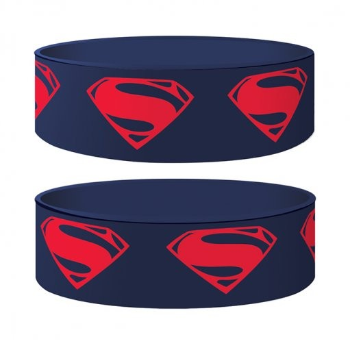 MAN OF STEEL - glyph Wristband