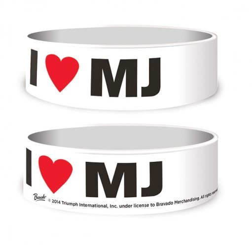 Michael Jackson - I Love MJ Wristband