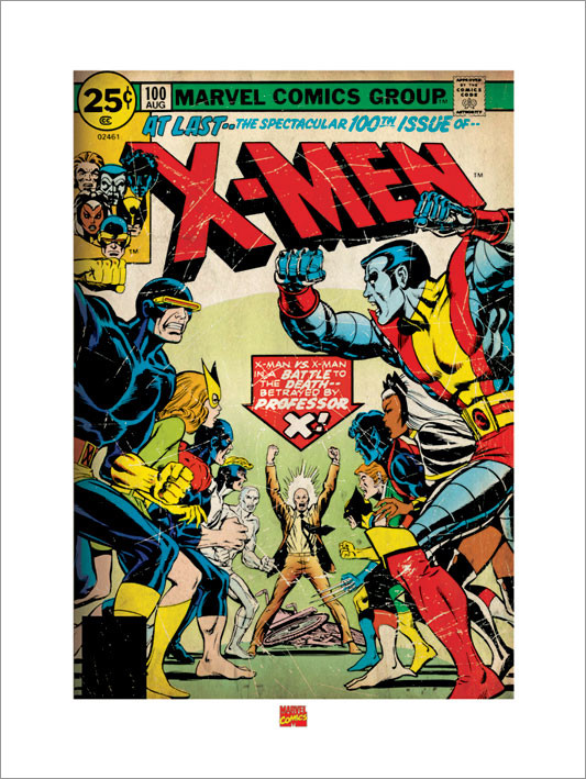 X-MEN  Reproduction d'art