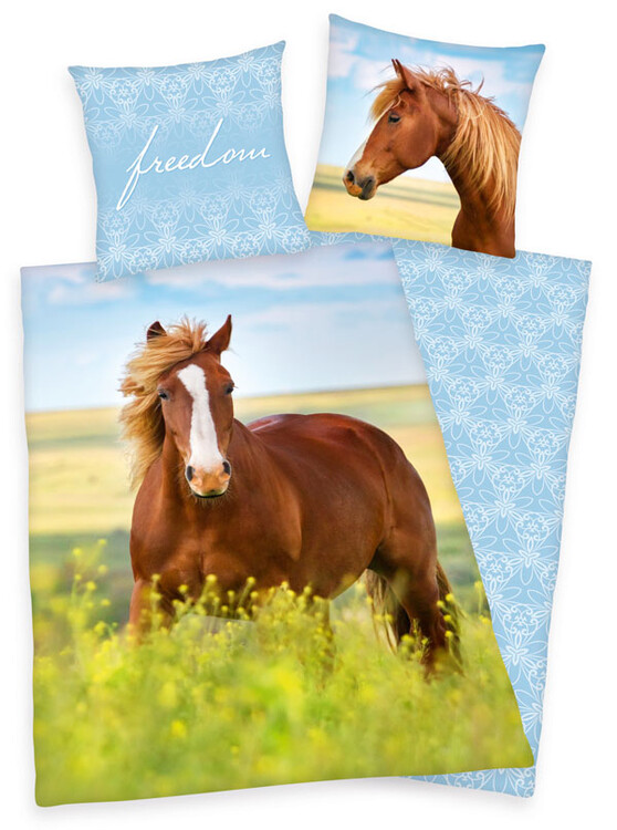 Bed sheets Young Coll - Horse