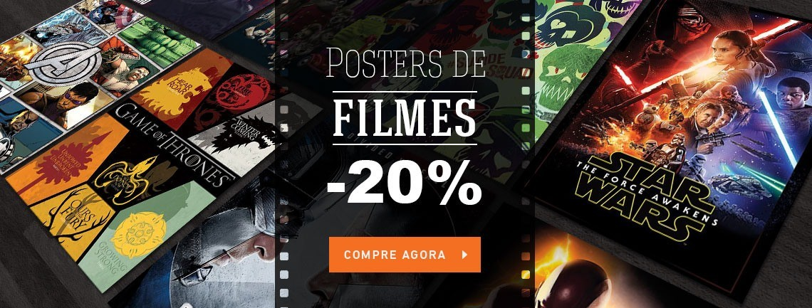 Posters de filmes e séries