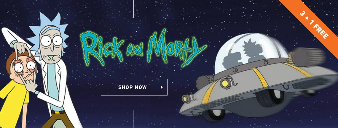 Rick & Morty Posters & Wall Art Prints | Buy Online at