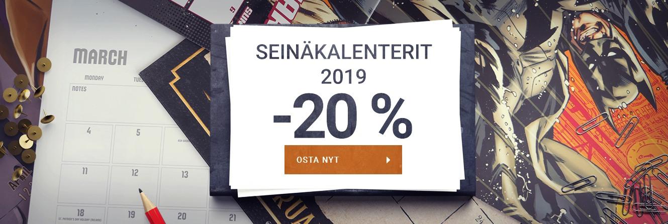 Seinäkalenterit 2019
