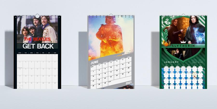 Seinäkalenterit 2021