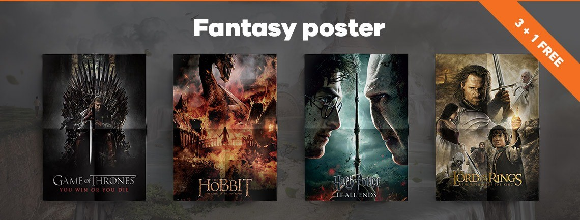 Are You A Big Fan Of Fantasy Games And Movies? Then Youu0027re At The Right  Address. In Our Selection Youu0027ll Find Posters Of Dragons, Flaming Skulls  And Angels ...